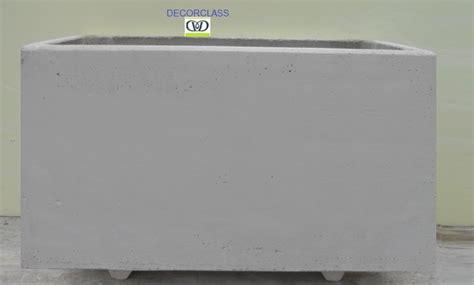 vasi cemento bianco fioriere vasi in cemento bianco