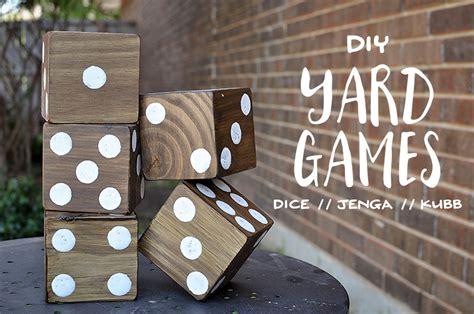 diy games diy backyard games and free printable cooties game our