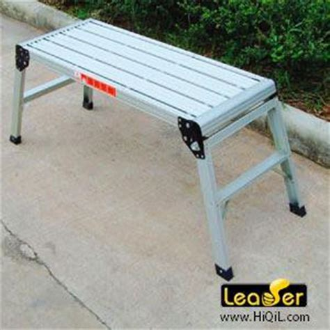 folding aluminum work bench aluminum work bench 28 images 105x50x41 aluminum platform drywall step up folding