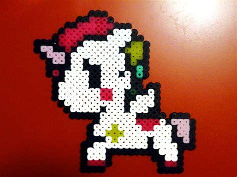 unicorn perler pattern cute unicorn perler fuse bead design fuse beads pinterest
