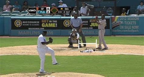 Home Plate Batting Center by Santiago Casilla And The Worst Plate Appearance In