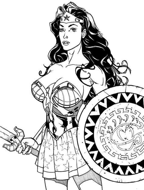 superhero coloring pages wonder woman wonder woman coloring pages coloringsuite com