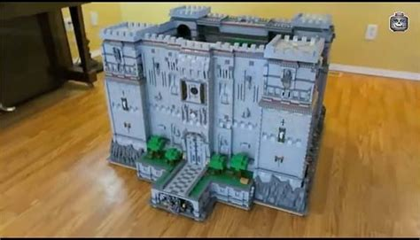 The Minecraft LEGO Castle with Full Interior Decoration