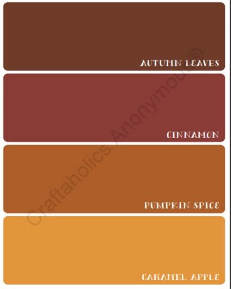 craftaholics anonymous 174 autumn paint chip fall printable