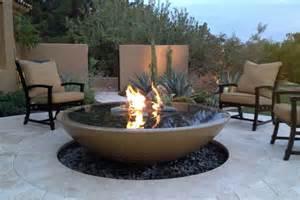 Backyard Portable Fire Pit Easy Way To Make A Concrete Fire Pit Fire Pit Design Ideas