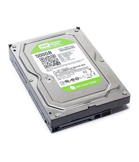 Harddisk Wd 500gb Green western digital caviar green 500 gb sata buy western digital caviar green 500 gb sata