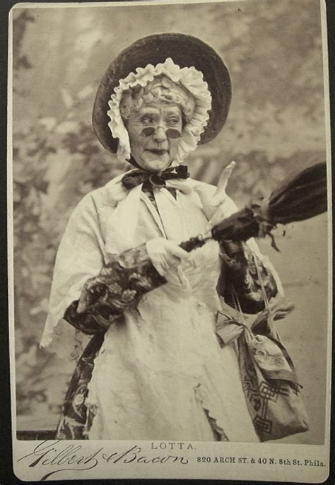Lot House Lotta Crabtree As Old Woman Broadway Photographs