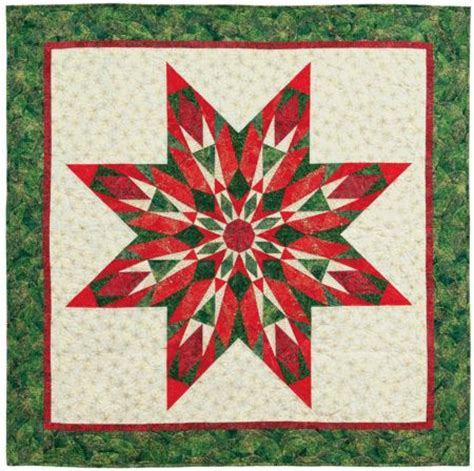 Poinsettia Quilt Block Pattern by Free Pattern Tonga Poinsettia Quilts Other