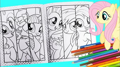 Mylittlepony Coloring Book S my pony coloring page for mlp children s