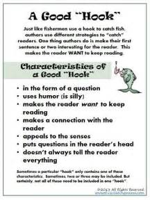 Exles Of Hooks For Persuasive Essays by 17 Best Images About Lesson Hook On Teaching Writing Hooks And Activities