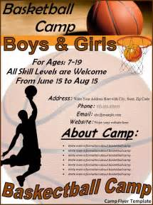 free camp flyer archives fine templates