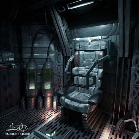 Interior Space Shuttle by 3d Space Shuttle Cabin Interior