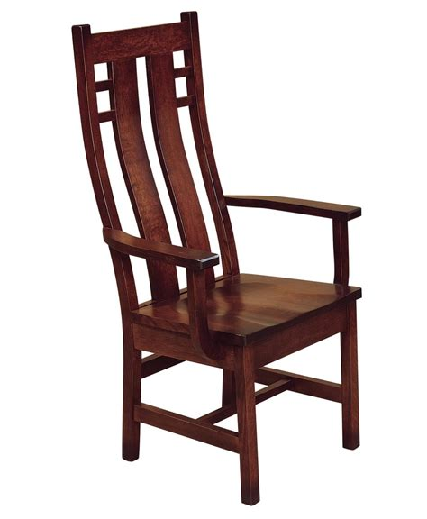 Amish Dining Chair Cascade Dining Chair Amish Direct Furniture