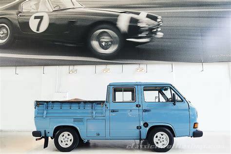 volkswagen transporter  twin cab classic throttle shop