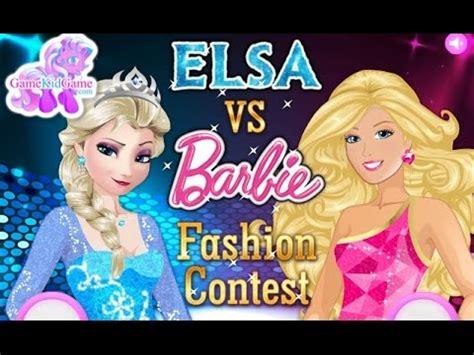 barbie fashion design contest games full download elsa vs barbie fashion contest fashion