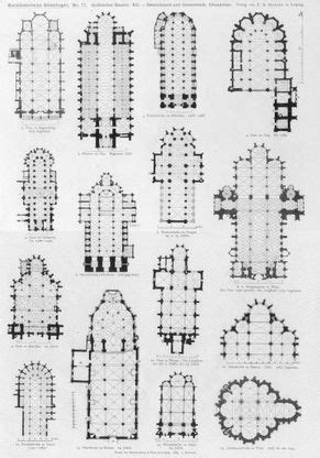gothic architecture floor plan gothic church floor plans architecture pinterest