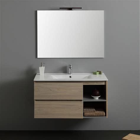lavandino mobile bagno mobile bagno 90 cm economico con cassetti e vano kv store