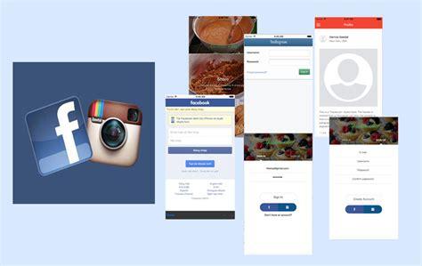 fb instagram app login fb instagram ionic marketplace