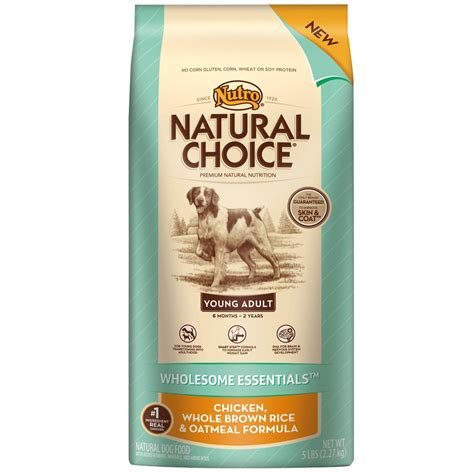 nutro choice food nutro choice wholesome essentials chicken brown rice oatmeal