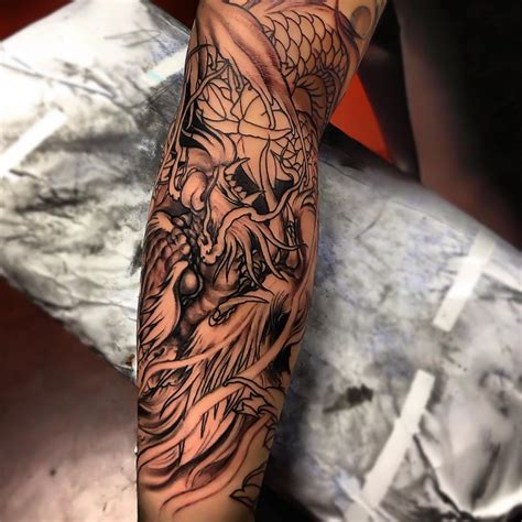 oriental tattoo forearm asian tattoos and designs page 164