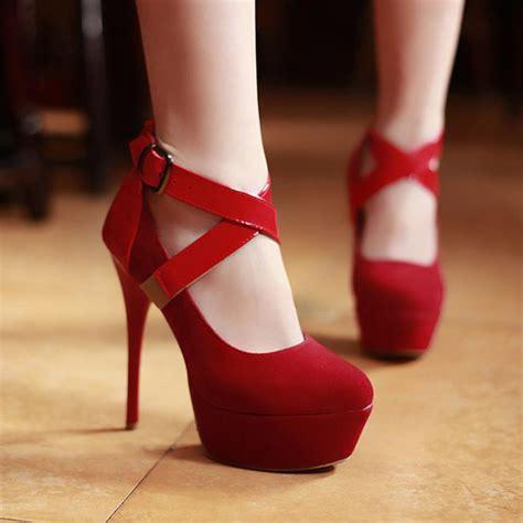 maryjane high heels fashion closed toe stiletto high heels pu