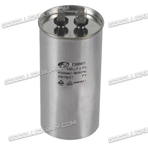 what is capacitor for air conditioner cbb65a 100uf 450v air conditioner capacitor 50 60hz class a capacitor