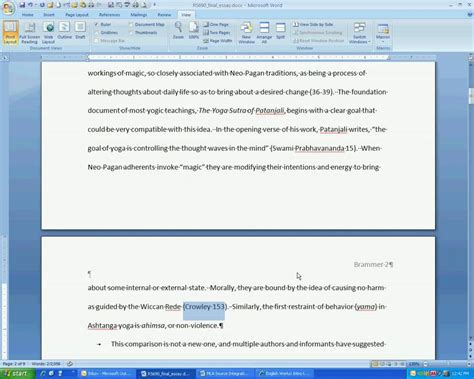 Essay In Text Citation Mla by Trcc Writing Center Mla In Text Citation Basics Part 2
