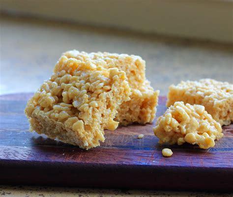 beurrista easy salted caramel rice krispie treats