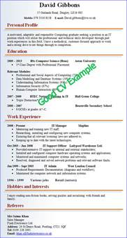 a good resume example printable templates free