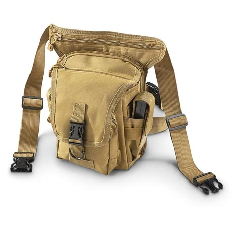 Visval Ryga Navy Hip Pack Waist Sling Bag Tas Pinggang cactus tactical hip pouch 614653 style backpacks bags at sportsman s guide