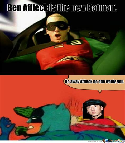 Batman And Robin Memes - eminem batman and robin by jacob duby 5 meme center