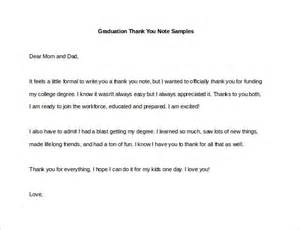 informal thank you letter format 9 sle thank you notes free sle exle format