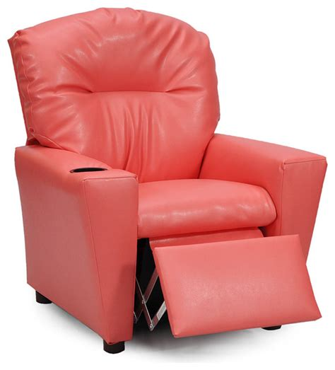 Vinyl Recliner Chairs by Coral Vinyl Kid S Recliner Recliner Chairs