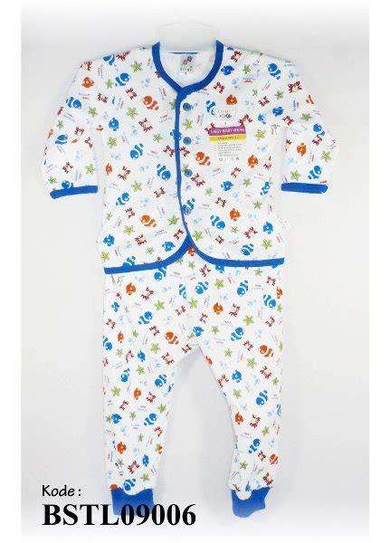 Baju Tidur Bayi Libby Sesetel Pendek Piyama Bayi Bahan Tebal Murah jual beli baju piyama bayi libby happy swimming biru bstl09006 piyama bayi baju bayi tidur