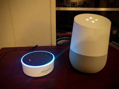 home vs echo dot in a smart home