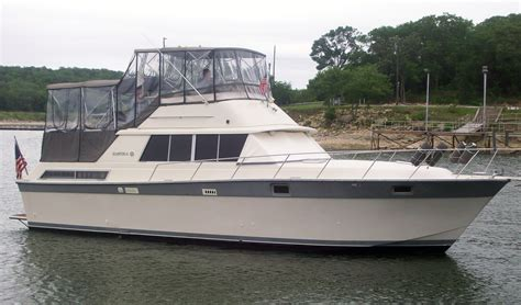 Silverton 40 Aft Cabin Review by Powerboat Guide Boat Reviews Specifications Reference Tool