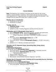 Ubc Physics 100 Course Outline by Engl 1302 Ii Tamu Intl Course