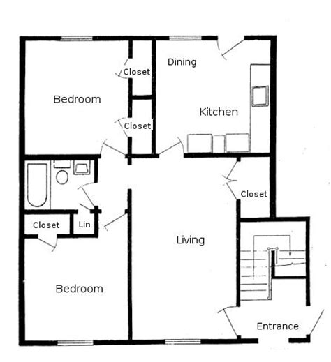 Backyard Apartment Floor Plans by Cedar Hills Apartments