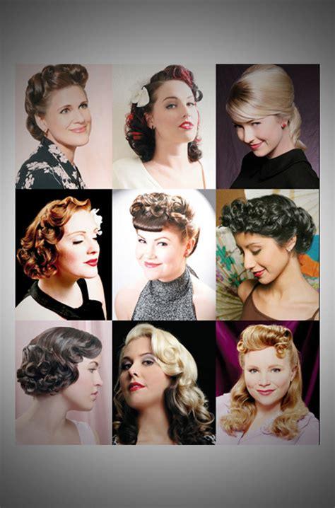 vintage hairstyles book by lauren rennells vintage hairstyling by lauren rennells