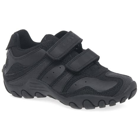 geox school shoes for geox crush junior boys black school shoes charles clinkard