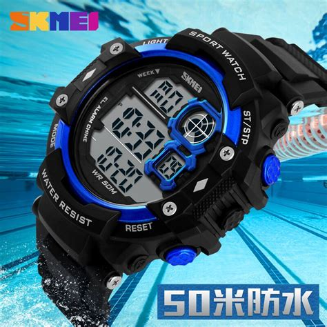 Skmei Digital Pria Dg1118 Diskon skmei jam tangan digital pria dg1118 black white jakartanotebook