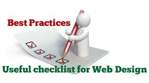 web layout best practices web design best practices useful checklist it blogger tips