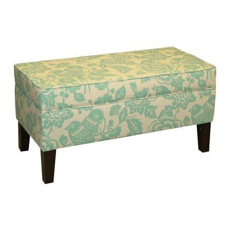 Canary Storage Ottoman Bench Everything Turquoise Turquoise Storage Ottoman