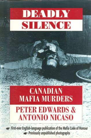 canadian picture books deadly silence canadian mafia by edwards reviews