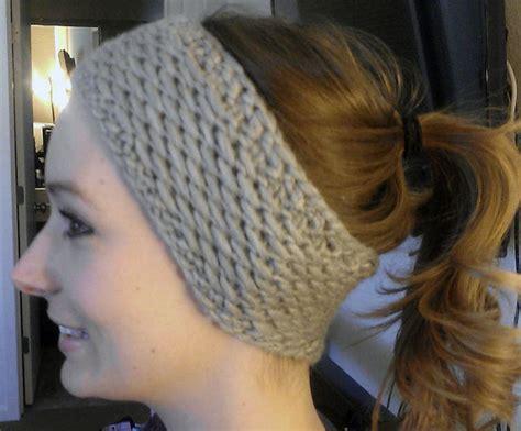 knitting pattern headband ear warmer knit headband ear warmer patterns a knitting blog