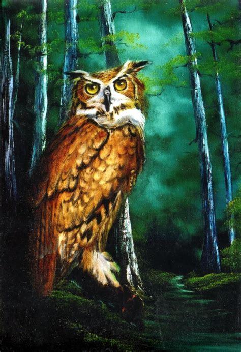 bob ross painting packets bob ross wildlife packet midnight owl wildlife