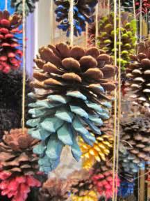 scissors and spice scissors craft pinecone decoration ideas for christmas