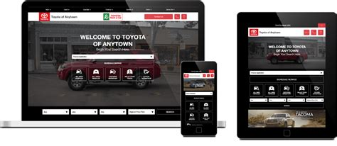 toyota website toyota certified website program dealer eprocess