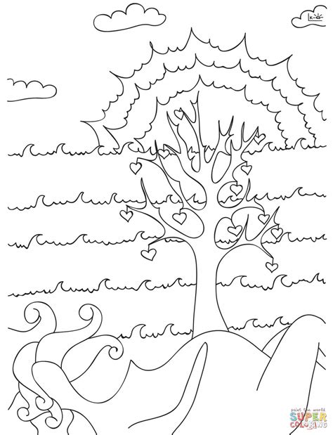 tree of life coloring pages bltidm