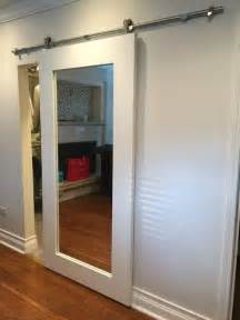 barn closet doors 20 mirror closet and wardrobe doors ideas shelterness
